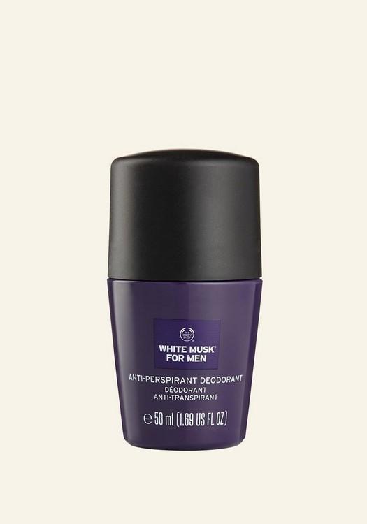 white musk for men anti perspirant deodorant 50ml 01