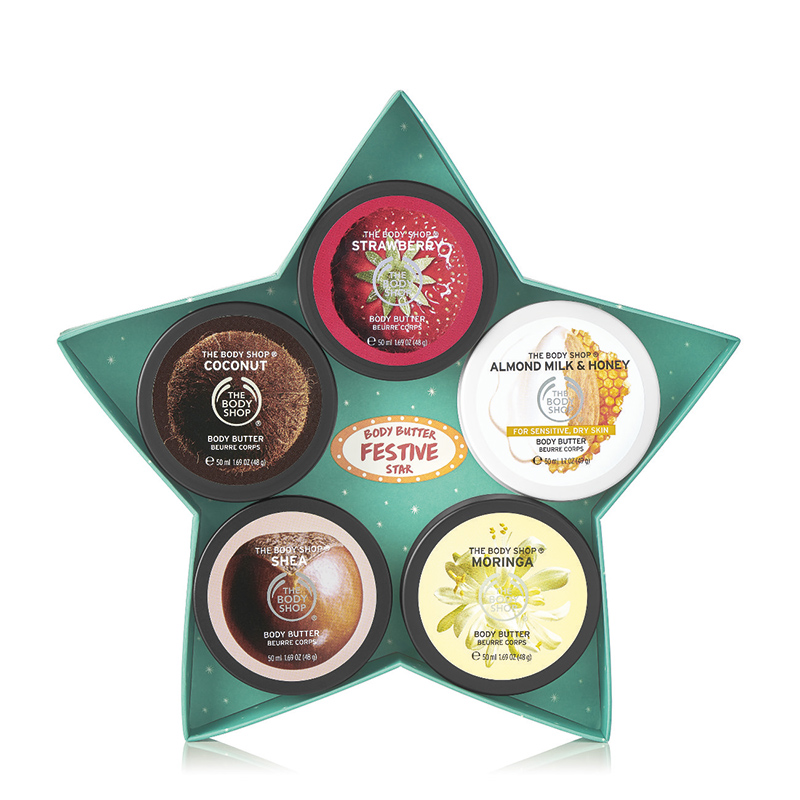 body butter festive star