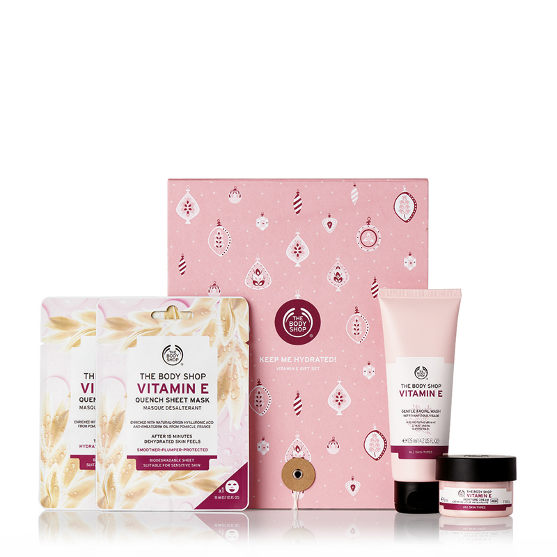 keep me hydrated vitamin e gift set
