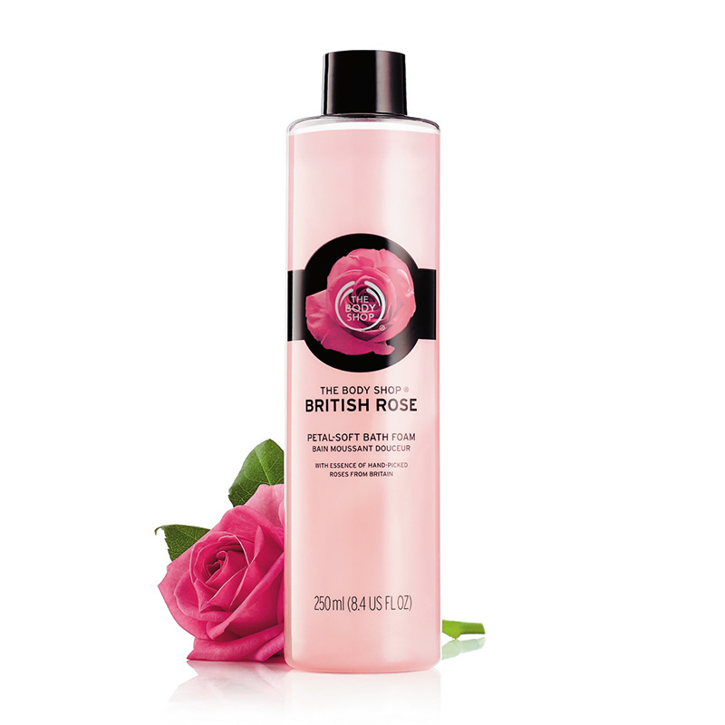 bath bubbles british rose 250ml 01